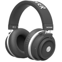 Kopfhörer mit Bluetooth, Headset Funktion und sattem Sound Denver BTH-250 black