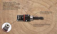 """Bit - Magnethalter 1/4"""", mit Ringmagnet Zugkraft 5kg , Bithalter"""