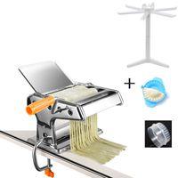 Nudelmaschine manuelle Nudelmaschine manuelle Spaghetti Schneide Rack -(Pasta-Rack,2 Klingen)