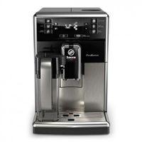 Saeco super automatic SM5479/10 Kaffeemaschine (Standalone, Espressomaschine, 1,8 L, Bohnen, gemahlener Kaffee, integrierte Mühle, schwarz, Edelstahl), 1850 W, 1,8 Liter