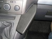 Haweko Telefonkonsole Für Opel Zafira, Bj. 07/05- Premium-Leder, Schwarz
