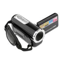 Portable Camcorder HD 8x Digital Zoom Videokamera Recorder DVR Schwarz 100x50x35mm Mini DV Kamera