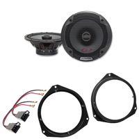 Alpine SPG-17C2 2 Wege Lautsprecher Einbauset für Opel Astra H Corsa D vorne