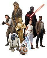 Star Wars - New Table Tops - Pappaufsteller - 8 kleine Tischaufsteller Partydeko