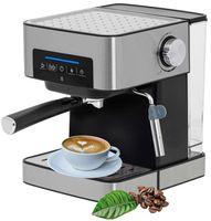 Camry Espresso Maschine   Siebträger   Kaffeemaschine   Cappuccinomaschine   Milchaufschäumer   15 Bar   1000 Watt