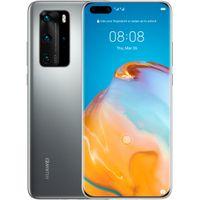 Huawei Smartphone P40 Pro 16,7cm (6,58 Zoll), 8GB RAM, 256GB Speicher, 50MP Kamera, Farbe: Silber
