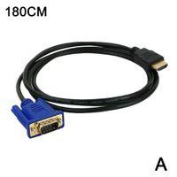 zu-VGA-1080P-HD-Kabel mit Audioadapter-Schnittstelle TV Digital 1.8M (kein Konvertierungschip)