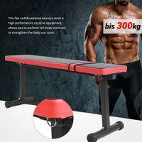 Hantelbank Trainingsbank Kraftstation Gewicht Bauch Sit-Up-Bank K-Sport bis300kg