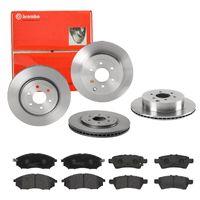 Brembo | Brembo | Bremsscheiben + Bremsbeläge Vorne + Hinten Nissan Pathfinder 3 R51 (SIZW6C3CO7)