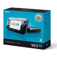 Nintendo Wii U Premium Pack, Wii U, IBM PowerPC, AMD Radeon, SD, SDHC, 32 GB, 32 GB