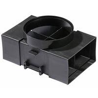 PKM Universal Umluftweiche für Dunstabzugsahauben AT150-4 UNI ø 150mm