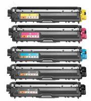 Merotoner® 5x XXL Toner Patronen Kompatibel zu Brother HL 3142, HL 3172 CDW, TN-242 TN246 TN 246 - Bk,Cy, Ma, Ye …