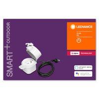 LEDVANCE SMART+ LED OUTDOOR PLUG EU Funksteckdose ZigBee 14,4 cm Weiß