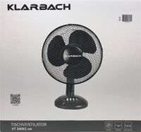 Klarbach VT 34061 schwarz