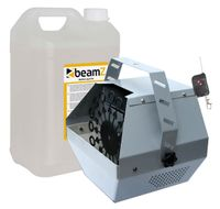 E-Lektron B600-R Seifenblasenmaschine mit Funk-Fernbedienung inkl. 5L Fluid