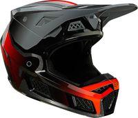 FOX V3 RS Wired Motocross Helm Farbe: Grau, Grösse: L (59/60)