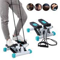 Swing Stepper Sidestepper Heimtrainer  Ministepper Mit Expander Bänder Treadmill Übungspedal Hop-Sport
