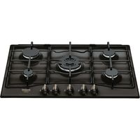 Hotpoint PCN 750 T (AN) R /HA, Anthrazit, Built-in (placement), Gaskochfeld, Emailliert, 5 Zone(n), 5 Zone(n)