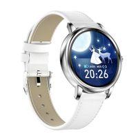 Smart Uhr Wasserdichte Smartwatch Fitness Tracker Schlaf Überwachung 40mm Style4