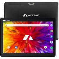 "Acepad A130  Tablet 10"" , 25,6 cm (10.1 Zoll), 4G, Octa Core, 64GB, 2GB Ram, Android 9.0 Pie,  IPS HD, WIFI/WLAN/Bluetooth, GPS, USB/SD (Alu-)"