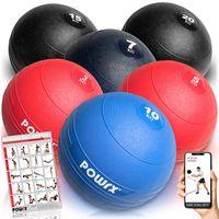 Slamball I Medizinball 3 - 20 kg I Slam Ball versch. Farben Gewicht: Set komplett
