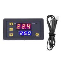 Hochpräziser LED Temperaturregler für Temperaturregler mit Temperaturheizung Schwarz LED-Temperaturregler 79 x 43 mm