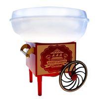 Vintage Zuckerwattemaschine, Retro Zuckerwatte Maker für zuhause, Zuckerwattegerät für Kindergeburtstag und Partys