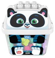 Mega Bloks Panda Bausteinbox (25 Teile)
