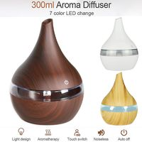Ultraschall Luftbefeuchter LED Duftöl Aroma Diffuser Humidifier Diffusor 300ML