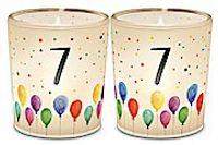 LaVida Ein Licht für Dich Geburtstagszahl 7