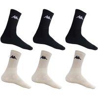 KAPPA - Sport- & Freizeit-Socken - 12er Pack (24 Stück)   Farbe: Schwarz   Größe: 43-46