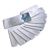10X Kreditkarte-Schutzhülle Bankkarte Sichere RFID Halter Folienabschirmung X8J2