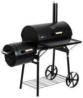 El Fuego Smoker Grill / Holzkohlegrill Dakota Grillfläche 66x41cm