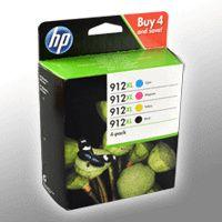 HP 3YP34AE Multipack BK/C/M/Y No. 912 X