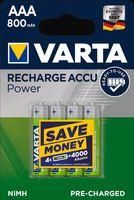 "VARTA NiMH Akku ""Rechargeable Accu"" Micro (AAA) 800 mAh"