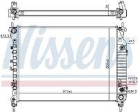 NISSENS Kühler Motorkühlung für OPEL ANTARA für CHEVROLET CAPTIVA C100 C140
