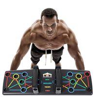 14in1 Multifunktionale Push-Up Rack Board Training Liegestützgriffe Körperkraft Brust Muskeltraining Fitnesskleingeräte