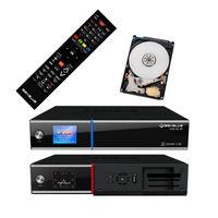 GigaBlue UHD UE 4K SAT TV Linux Receiver 2x DVB-S2 Ultra HD 2 TB Festplatte