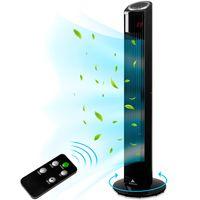 AERSON® Turmventilator 90 cm mit Fernbedienung Ventilator Standventilator leise Klimaanlage