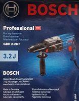 Bosch Professional Bohrhammer GBH 2-28 F, 3,2 J, 6tlg. Bohr-Meißel-Set, SDS-plus, in L-BOXX, Blau/Schwarz