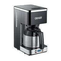 GRAEF FK 512 Thermo-Kaffeeautomat, Farbe:Schwarz