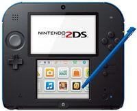 "Nintendo 2DS, Nintendo 2DS, Schwarz, Blau, 8.97 cm (3.53""), 7.67 cm (3.02""), SD, 3.5 mm"