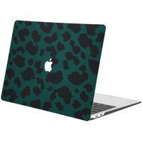 iMoshion Design Laptop Cover für MacBook Air 13 Zoll (2020) - Green Leopard