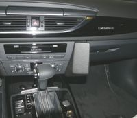 Haweko Telefonkonsole Für Audi A6, Bj. 03/2011 - Premium-Leder, Schwarz
