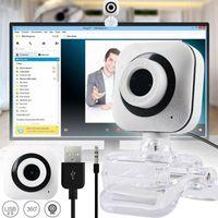 USB 2.0 Webcam Kamera Laptop Desktop Mit Mikrofon für Home Online PC Videoanrufe 360 Drehbar SXT09