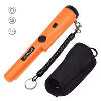 Pro-Pinpointer S Metall Detektor Metallsuchgerät mit LED Taschenlampe,Orange