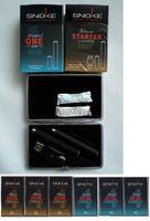 SNOKE E- Zigaretten 2 Stück + Etui + 26 Caps Anfängerset
