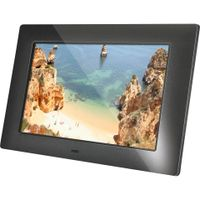 BRAUN PHOTO DigiFrame 720 Digitaler Bilderrahmen 17.8 cm 7 Zoll 1024 x 600 Pixel - MP3-Player