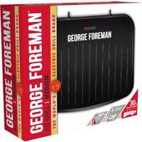 George Foreman 25810-56, Schwarz, Rechteckig, 1630 W, 360 mm, 100 mm, 310 mm