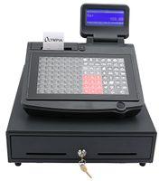 Olympia CM 955 Registrierkasse TSE mit 5 Jahren Lizenzlaufzeit GoBD/GDPdU-konform  Schwarz